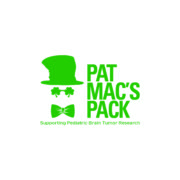 Pat Mac's Pack hat and glasses logo with text